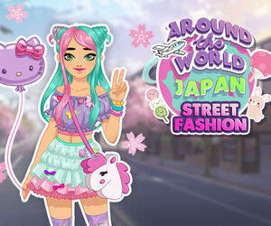 Around The World: Japan Street Fashion