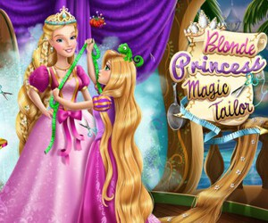 Blonde Princess Magic Tailor