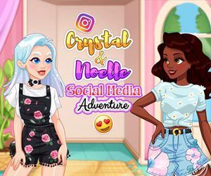 Crystal and Noelle's Social Media Adventure