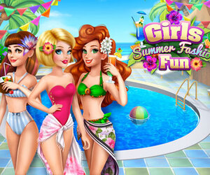 Girls Summer Fashion Fun
