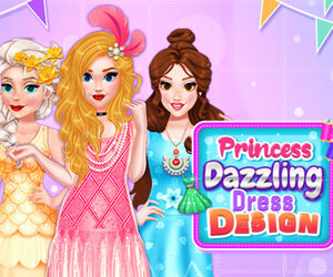 Princess Dazzling Dress Design