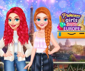 Princess Girls Trip To Europe