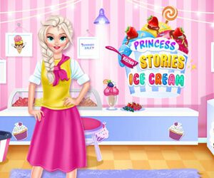 Princess Kitchen Stories: Ice Cream