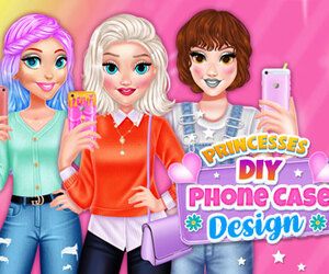 Princesses DIY Phone Case Design